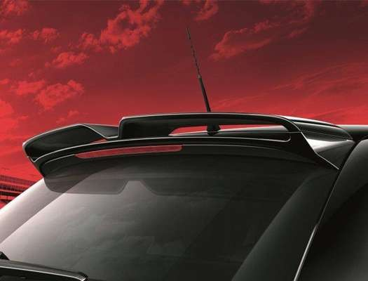 oem audi a1 8x roof spoiler 4door. Black Bedroom Furniture Sets. Home Design Ideas