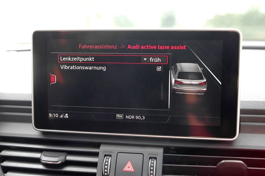 Euro NCAP Advanced Rewards - Lane Support - Audi Active ...