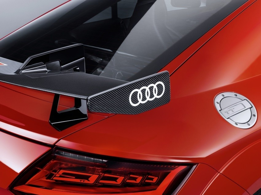 Audi TTRS 8S carbon rear Spoiler - performance parts