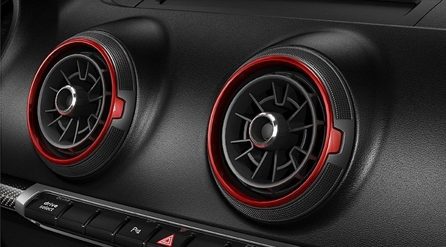 OEM Audi RS3 8V interior air vents - facelift