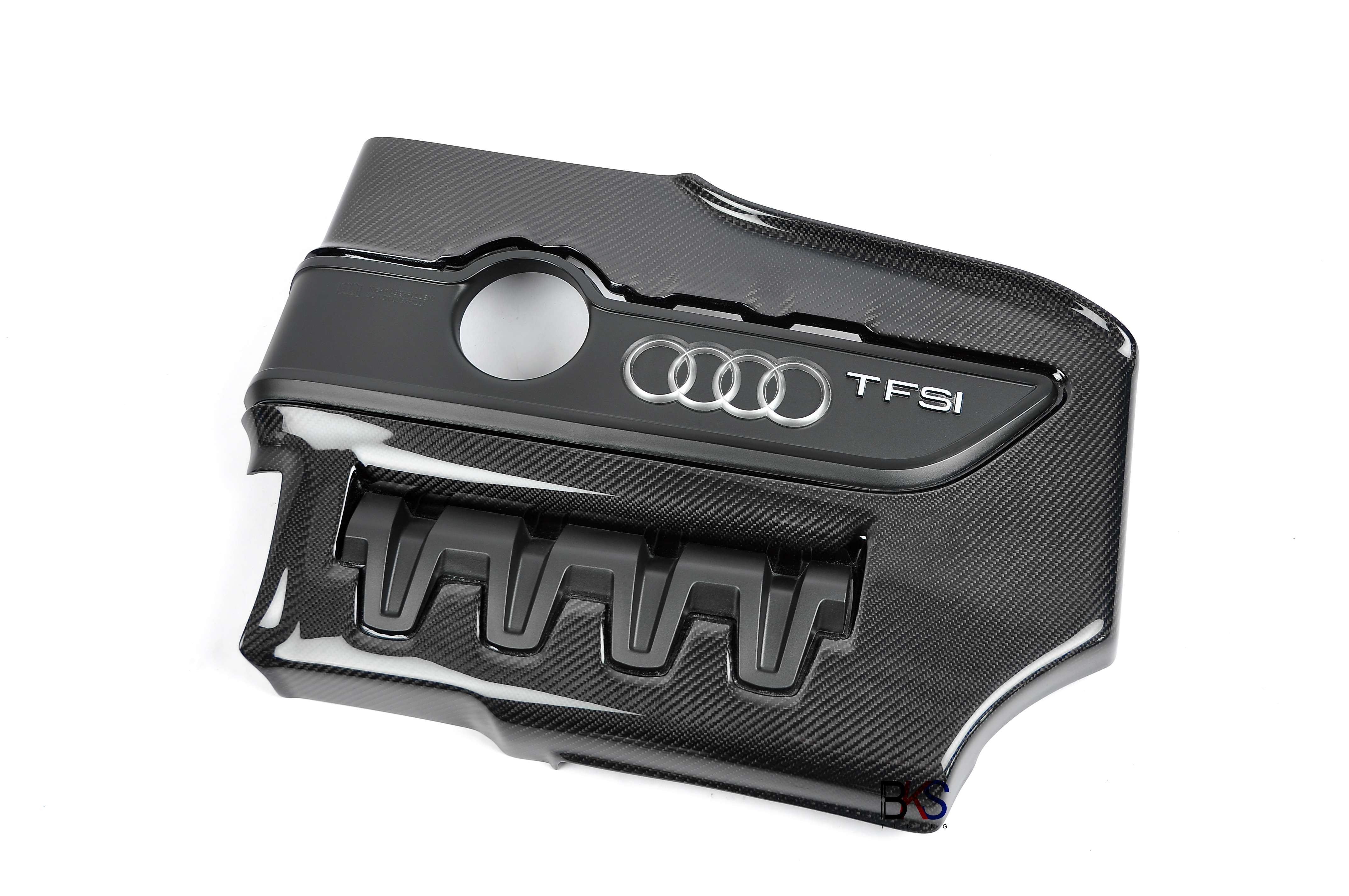 Audi TTS 8J carbon engine cover