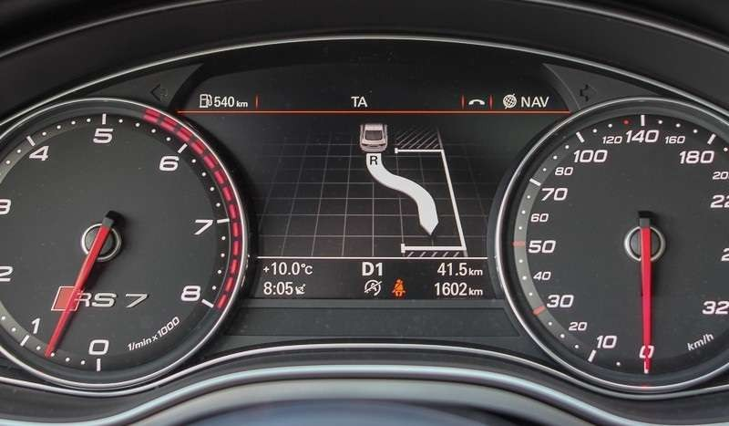 BKS-Tuning Park Assist Retrofit Audi A6 C7 (4G)