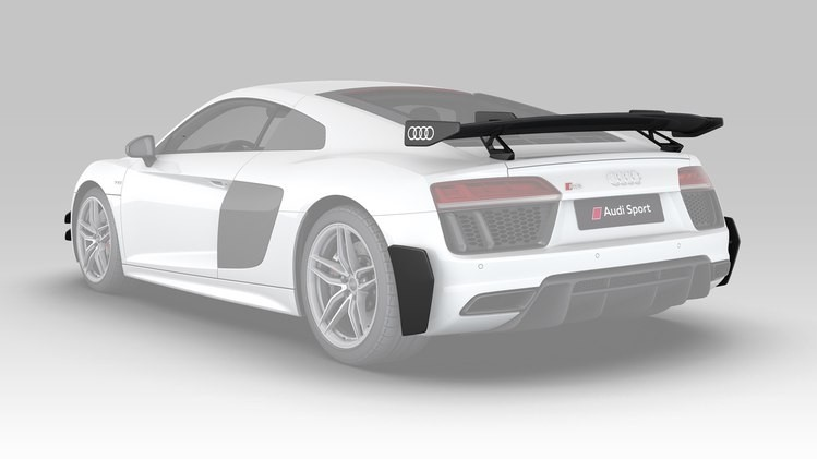 Audi R8 4S carbon exterior performance parts Aerokit 3