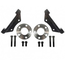 VW Golf 4 Polo 9N Bora Audi A3 TT TTRS RS3 Audi TT brake system caliper mounting brackets 370x32mm