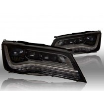 OEM Full LED headlights - Audi A7 L&R - complete