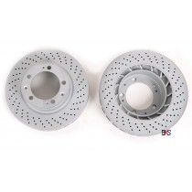 Zimmermann COAT Z - Audi A3/S3 8V drilled front sport rotors