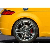 OEM Audi TTS 8S MK3 brake conversion - rear