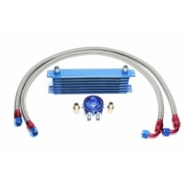 6-rows aluminium oil cooler kit