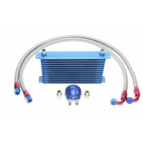 12-rows aluminium oil cooler kit