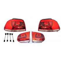 VW Golf MK6 R LED red taillights incl. adapters & shipping
